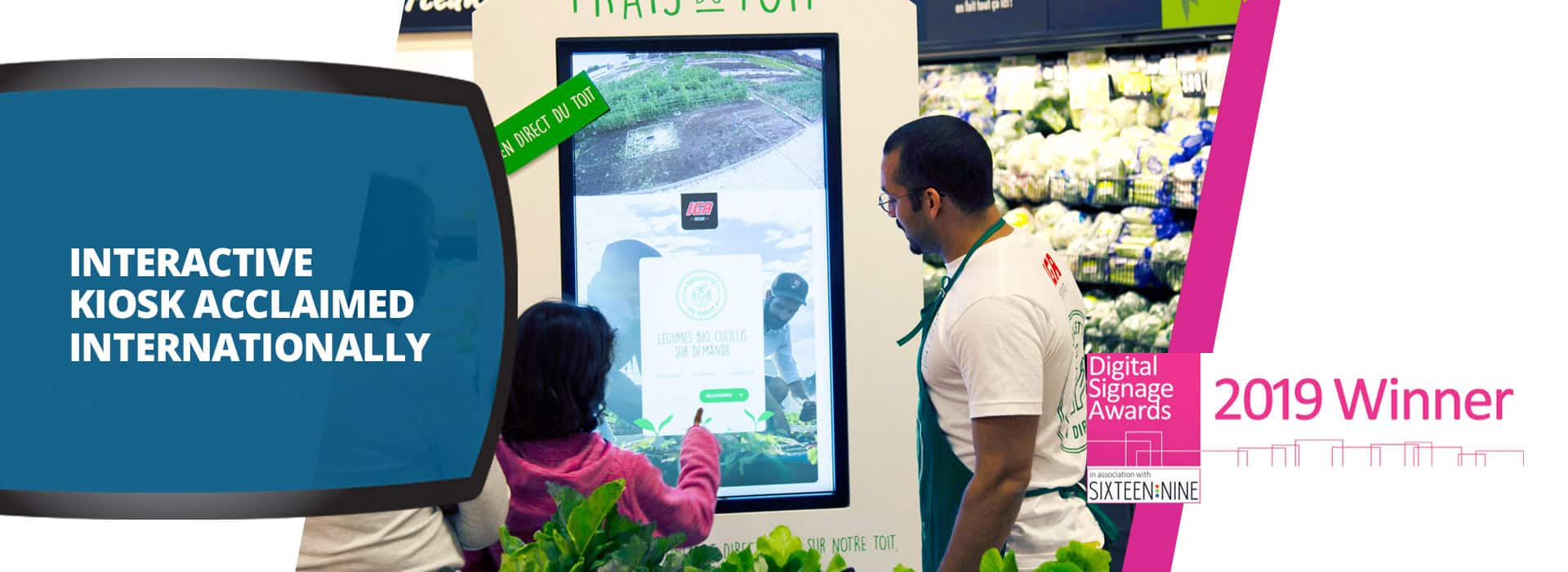 Digital signage winner